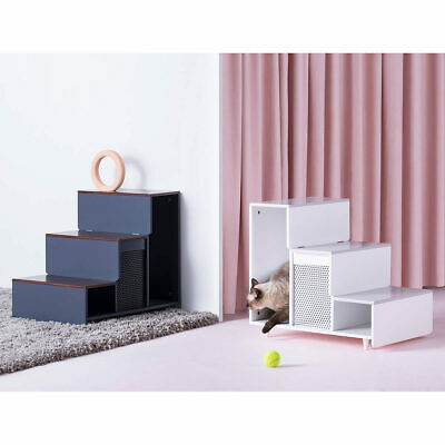 Staart Esker Wooden Pet Steps in 2 Colours**FREE & FAST DELIVERY**