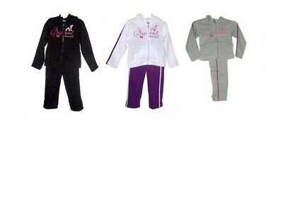 Girls Tracksuit Sweet Divine Jog Set Hooded Top & Elasticated Waist Bottom Set