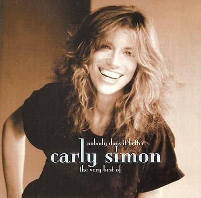 Carly Simon - Nobody Does It Better (The Very Best Of) - UK CD album 1999
