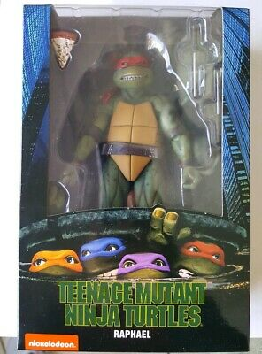 NEW TEETH NECA TMNT Ninja Turtles 90's Raphael 7 Inch Gamestop Movie figure