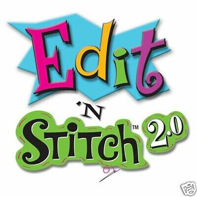Amazing Designs - EDIT N STITCH V2 MACHINE EMBROIDERY DESIGN EDITING SOFTWARE