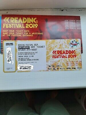One Saturday 'Day' Ticket For READING FESTIVAL 2019 (SAT 24th AUG)