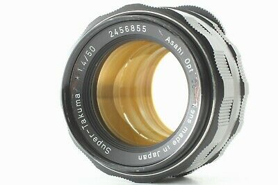 [Exc+++] Pentax SUPER TAKUMAR 50mm F1.4 M42 MF Lens From Japan #a119