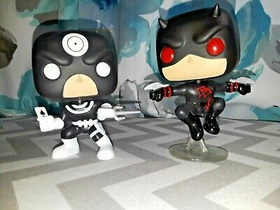 Funko POP! Bullseye / Daredevil - Marvel Collector Corps Exclusive 2-Pack NO BOX