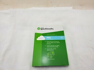 Intuit QuickBooks Mac Online 2017 Small Business Accounting Software -NEW/SEALED