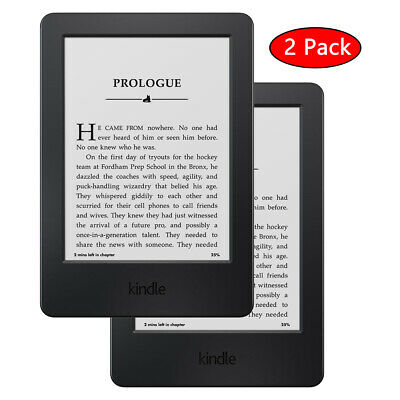 """2 Pack Amazon Kindle 6"""" Touchscreen WiFi E-Reader 7th Generation"""