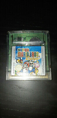JEU Nintendo GAME BOY COLOR SUPER MARIO BROS DELUXE