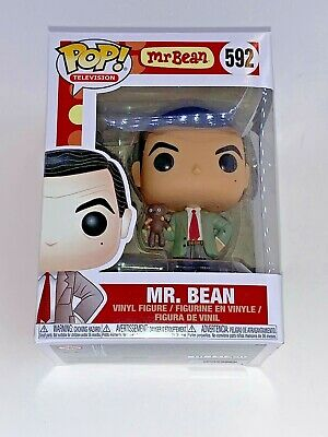 Mr. Bean Funko Pop #592 in Pop Shield Television