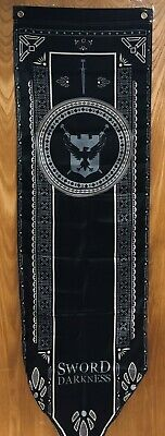 """Sword in the Darkness Banner Flag Tournament Game of Thrones GOT 58"""" x 17"""" NIP"""