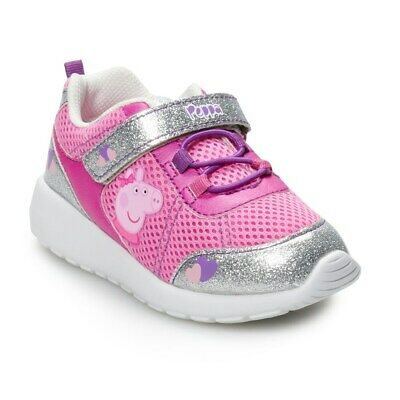 NEW ! Peppa Pig Toddler Girls' Sneakers / Athletic Shoes size: 6 7 8 9 10