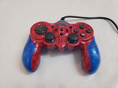 Sony Playstation 2 Spiderman Marvel Dual Shock 2 PS2 Controller