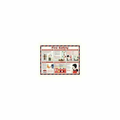 Sign 420X590 Fire Safety Poster NEW
