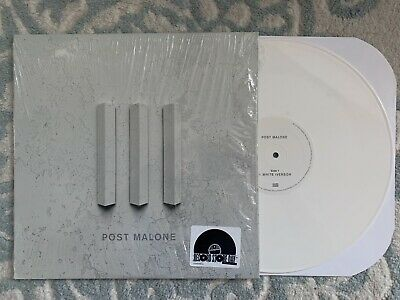"""Post Malone - White Iverson / Too Young RARE 12"""" RSD 2016 White Marble Vinyl LP"""