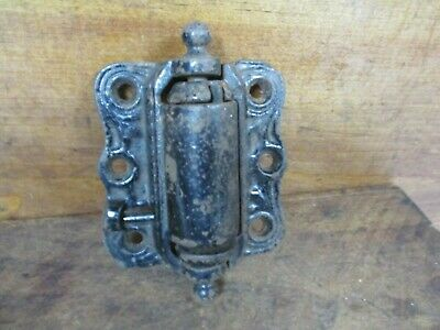 Antique Working Cast Iron Screen Door Hinge OLD HARDWARE REPLACEMENT H451
