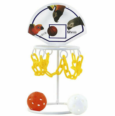 Northern Parrots Bird Basketball Basket Ball Toy Set in 2 Sizes