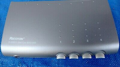 Recoton SVS1000 S-Video switch 4 ports