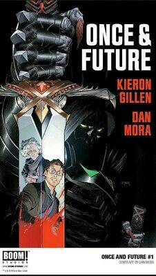 ONCE AND FUTURE #1 1st Print Boom! Studios Kieron Gillen SOLD OUT! 9.8??