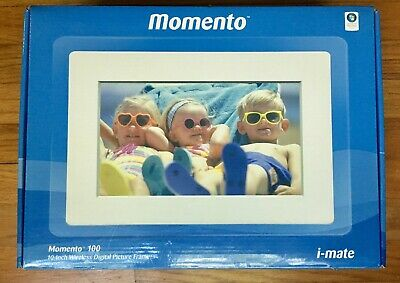 """iMate Momento 100 10.2"""" Wireless Digital Picture Frame w/ Wi-Fi MP3 Video Play"""