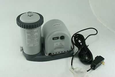 Intex 28633EG Krystal Cartridge Above Ground Pool Filter Pump 2500 GPH Flow Rate