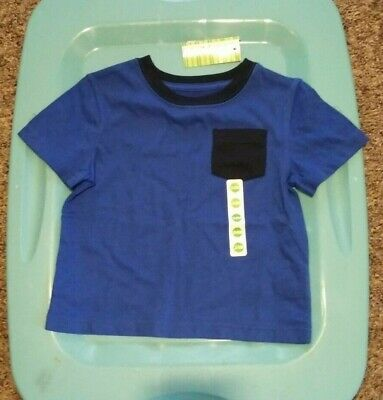 NWT Toddler Boys 24M Peanut & Ollie Pocket T-Shirt