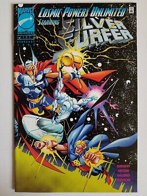 USA, 1995 Surfer Cosmic Powers Unlimited # 1 of 5