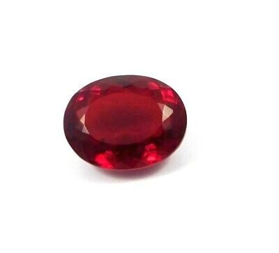 Treated Faceted Garnet Gemstone 39.15 CT26x19 mm RM 16764