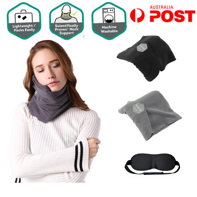 Portable Soft Comfortable Travel Pillow Proven Neck Support Sitting Nap T-Pillow