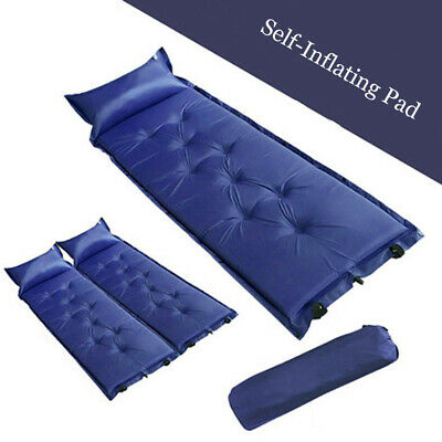 Outdoor Waterproof SelfInflating Camping Pad with Pillow for Backpacking/Camping