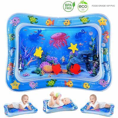 Tummy Time Baby Inflatable Water Play Mat Newborn Infant Toy 3 6 9 Month Toddler
