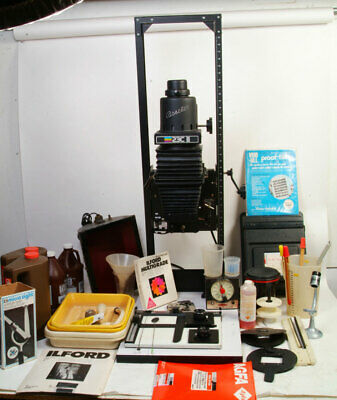 BESELER 23 II XL Enlarger Outfit Complete Darkroom Lots of items EX +++