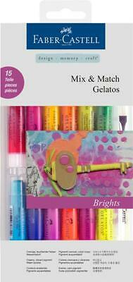 Faber Castell Brights Set Gelatos Crayons Water Soluble FC121813