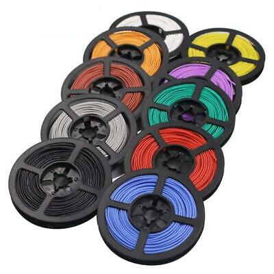 Silicone Cable Flexible Wire 8/10/12/14/16/18/20/22/24/26/30 AWG Various Colours