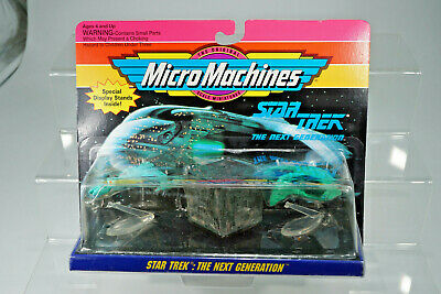 "Galoob Micro Machines Star Trek "" Next Generation "" Set #3 aus Ladenfund"
