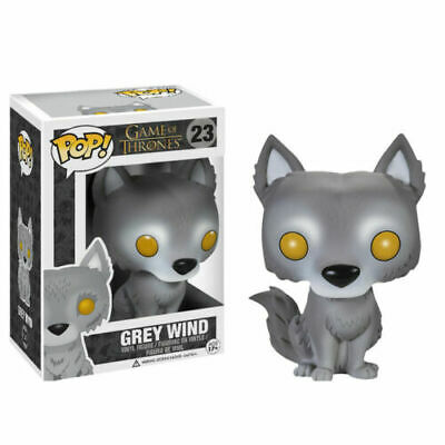 Funko Pop Game of Thrones Grey Wind Wolf Action Figure Ice Wolf Model #23 10CM