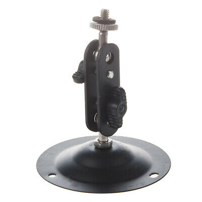 Wall Mount Round Base Flexible Bracket Stand for CCTV Camera Camcorder K9H8