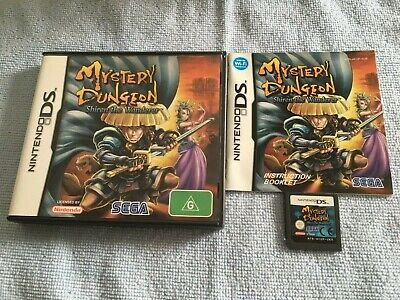 Mystery Dungeon: Shiren the Wanderer (Nintendo DS, 2008) AUS PAL Complete