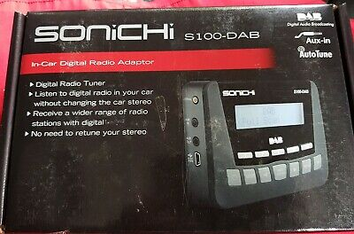 Sonichi S100-DAB in Car Digital Radio Transmitter
