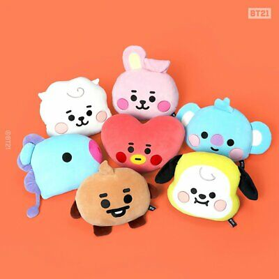 [Pre-Order] BT21 X Line Friends - Baby BT21 Face Cushion