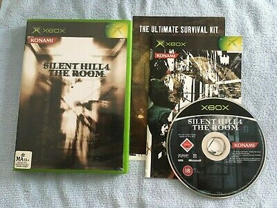 Silent Hill 4: The Room (Microsoft Xbox, 2004) PAL Complete