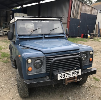Land Rover 90 with galvanised chassis