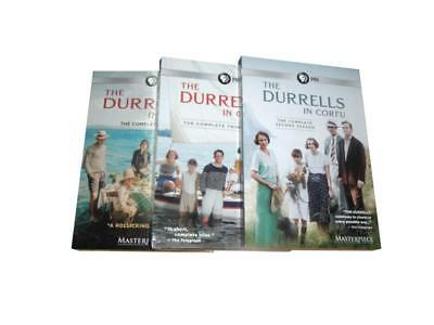 The Durrells in Corfu - Complete Series Seasons 1-3 (DVD, 6-Disc Set) 1 2 3