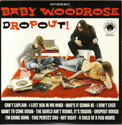 Baby Woodrose - Dropout! // 2xLP Vinyl limited edition to 500 on Green