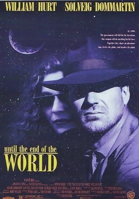 UNTIL THE END OF THE WORLD by WIM WENDERS , William Hurt - Jeanne Moreau NEW DVD