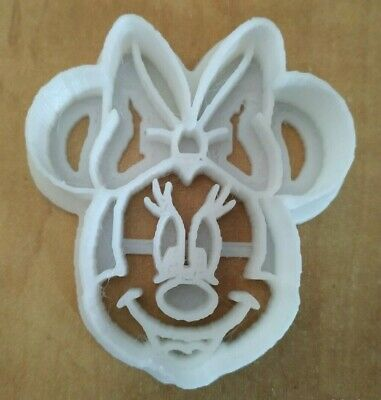 3D printed High Quality Plastic Minnie Mouse Cookie cutter Biscuit Baking Cake