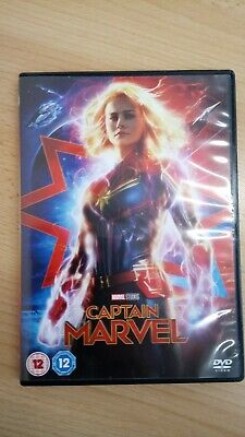 Captain Marvel dvd 2019 from Marvel Studios, viewed only once
