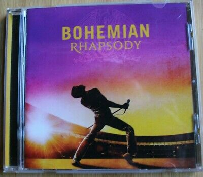 Bohemian Rhapsody Ost 2018 Movie Soundtrack Queen Freddie Mercury 22 Tracks Cd