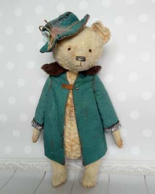 Vintage bear Miss Marple Antique teddy Antique toys Plush teddy bear