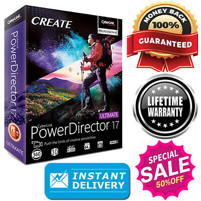 CyberLink PowerDirector Ultimate 17 🔐 Latest Version 📥 Instant delivery 📥
