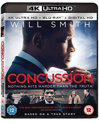 Concussion (2Disc 4K Uhd And Bd) Blu-Ray New