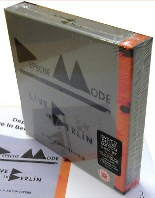 DEPECHE MODE 5 Disc BOX Set CD x 2 Live In Berlin DVD x 2 Blu-Ray Boxed DELUXE